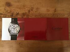 Booklet Folleto CARTIER - Collection Privée - Relojes Watches Montres - Español