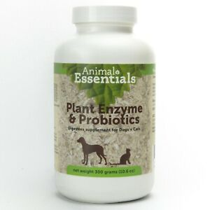 Animal Essentials Plant Enzymes and Probiotics 300 gram   Supplement for Pets
