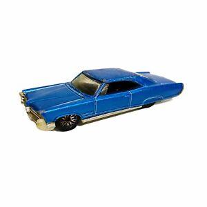 65 Pontiac Bonneville Low Rider Blue 2002 Hot Wheels Diecast Car Loose