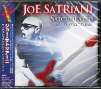 JOE SATRIANI-SATCHURATED: LIVE IN MONTREAL-JAPAN 2 CD BONUS TRACK G88