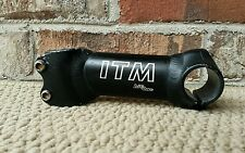 "ITM Big One Stem MTB Racing 11° 1-1/8"" Threadless Retro 25.4mm Handlebar Clamp"