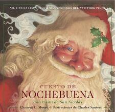 Cuento de Nochebuena, Una Visita de San Nicolas: Spanish Edition-ExLibrary
