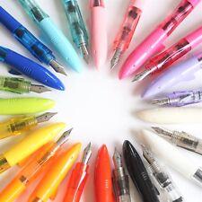 JINHAO SHARK #993 Fountain Pen Kids Lightweight Series FINE Nib 20 COLOURS Ink