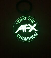 I Beat The Champion - Afx - Glow-In-The-Dark Metal Key Ring - Slot Cars