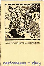 WW1 WWI Propaganda - Attilio - La Civiltà tutta... - Formato Grande - PV243