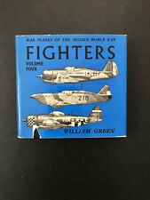 Fighters,Volume Four, by William Green - 1964 - Doubleday Ed, Vtg, H/C Book w/DJ