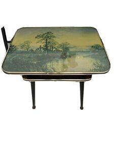 vintage 1950s coffee table