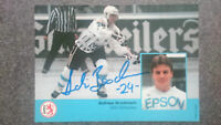 AK m.Orig.AG Andreas Brockmann GER Eishockey 6.OS 92 Nationalspieler DEG