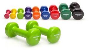 Vinyl Kurzhanteln Gewichte Hantelset Fitness Aerobic 2er Set - hochwertig