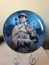 Sherlock Holmes Plate & Stand