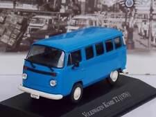Volkswagen Kombi Bus Type 2 T2 1976 Blue 1:43 Ixo  Collection Brazil 2016