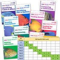 SRA Specific Skills Reading Starter Set Level H Full Set McGraw Hill - 10 Books