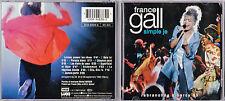 CD 10T FRANCE GALL SIMPLE JE REBRANCHÉE A BERCY 93 DE 1994