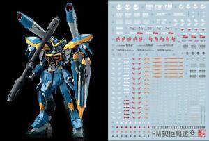 Gundam UC water slide decal SIMP sticker F38 FM Full Mechanics Calamity