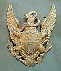 1881 1st Artillery Officer Two Pin Helmet Plate