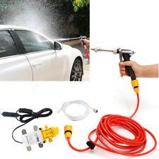 Elektrische Wasserpumpe Auto Waschanlage 12V 100W Hochdruck Waschen Bewässerung