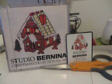Baby Lock Bernina Brother Machine Embroidery Card #105 Christmas Collection