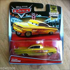 Disney PIXAR Cars YELLOW RAMONE diecast 2015 RADIATOR SPRINGS theme 2/19 GOLD