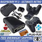 Raspberry Pi 3 Ultimate Retro Package RetroPie KODI Remote 2.5A Power Switch