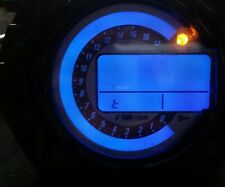 BLUE KAWASAKI ZX6R C1H C6H 04 TO 06 LED CLOCK KIT LIGHTENUPGRADE