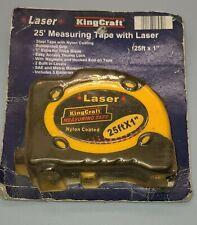 KingCraft Laser 25ft Measuring Tape