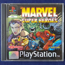 PS1 - Playstation ► Marvel Super Heroes ◄ VERY RAR | PAL | Komplett