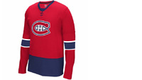 NHL Reebok Montreal Canadiens Faceoff Hockey Jersey New Mens Sizes $45