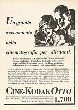 W7720 Cine-Kodak Otto - Illustrazione - Pubblicità del 1933 - Old advertising