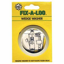 Fix-A-Loo Plastic Flush Valve Sealing Wedge Washer, Australian Brand