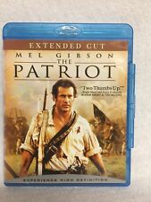 The Patriot (Blu-ray Disc, 2007) Extended Cut Like New!