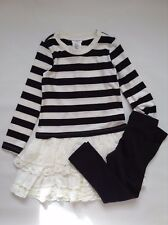 Max Studio Girl`s 2 Pieces Set Dress & Leggings Size 3-4yrs