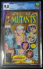 New Mutants #87 Marvel 1990 CGC 9.8 2nd Print 1st Cable Stryfe Gold Ink Cover