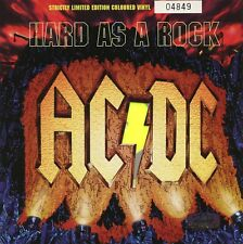 AC/DC 7'' US. Single 45 - Hard As A Rock PC - Yellow Vinyl No. 04849 Ltd Edn NEW