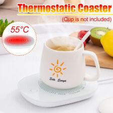 220V Electric Powered Cup Warmer Heater Pad Coffee Tea Milk Mug for