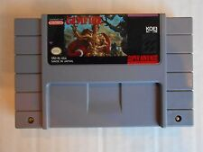 Gemfire Super Nintendo NES Game~Tested & Works Great