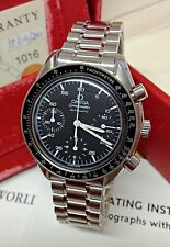 Omega Speedmaster Reduced 38mm 3510.50.00 Chronograph - Box & Paperwork 2001