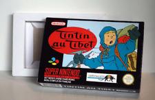 Boîte SNES – Tintin au Tibet [FAH]