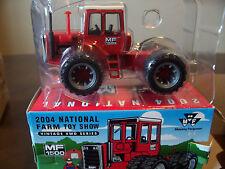 Ertl Toy Farmer show massey ferguson MF 1500 4wd Tractor 1/64 model 16118A 2004