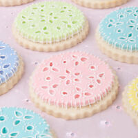 Kitchen Baking Mold Cake Decorating Fondant Plunger Tools Cookies Mold 6T