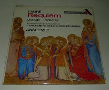 FAURE LP REQUIEM DANCO SOUZAY ANSERMET SCHMIDT VERY GOOD+ ADD154