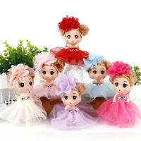 12Cm Mini Ddung Doll Cute Toy Confused Doll Key Chain Phone Pendant Ornament GF