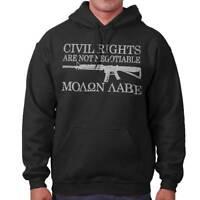 Rights Molon Labe 2nd Amendment Molon Labe Hoodies Sweat Shirts Sweatshirts