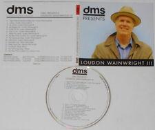 Loudon Wainwright III - DMS Presents  U.S. promo cd, digipak cover