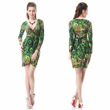 Ever-Pretty Polyester Animal Print Dresses for Women