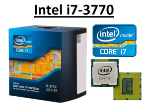 Intel Core i7-3770 SR0PK ''Ivy Bridge'' 4 Core,LGA1155, Clock 3.4 - 3.9 GHz CPU