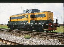B481 - Dia slide 35mm original Belgium NMBS SNCB, Lok 7102  Antwerpen haven