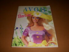 Avon Catalog, Campaign 7, Springtime With Barbie Cover, 1996!