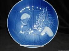 Bing & Grondahl Christmas Plate, Jule-Aften  1978