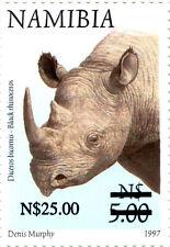 NAMIBIA 1997 DEFINITIVES OVERPRINTED 2005 SG1005 BLOCK OF 4 MNH