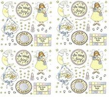 Frances Meyer TOOTH FAIRY Scrapbook Stickers! Teeth 4 Sheets!